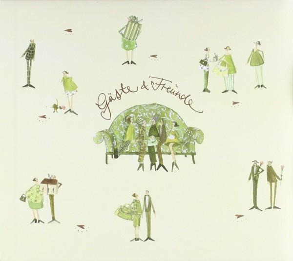 Gästebuch Green Wedding
