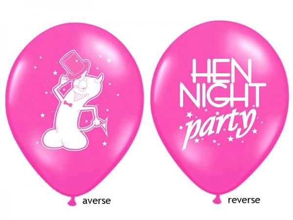 Hen Night Luftballon