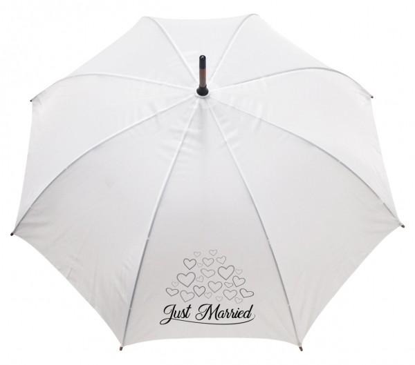 Regenschirm Just Married