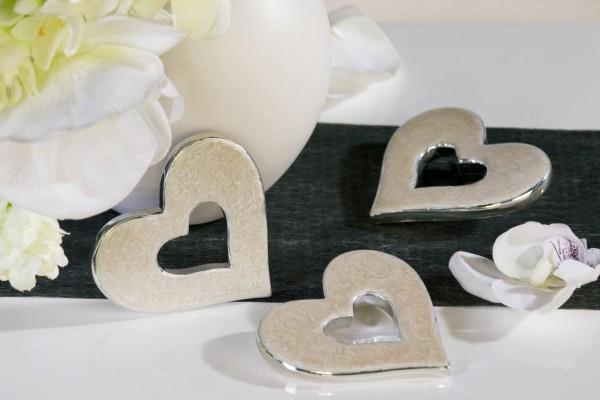 Tischdeko Herz