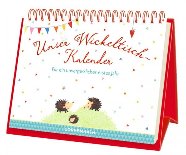 Wickeltisch-Kalender