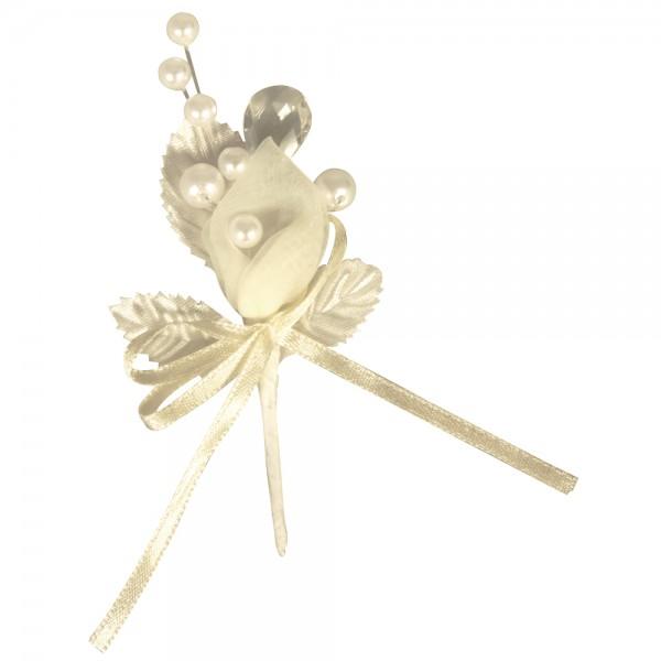 Hochzeitsanstecker Perle