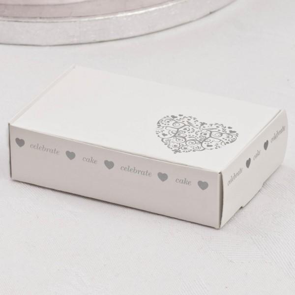 Keksschachtel Vintage Silber