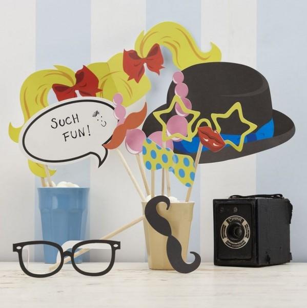 Photo Booth-Set Klassisch