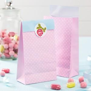 Candybar Säckchen Vintage Rose