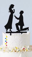 Tortendeko Heiratsantrag