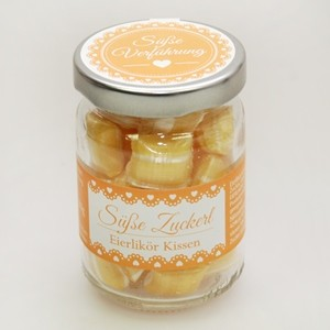 Süße Zuckerln Eierlikör