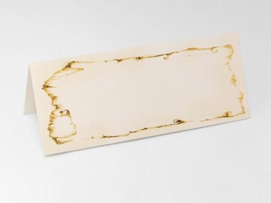 Tischkarte Mittelalter