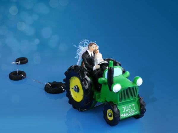 Tortenfigur Traktor