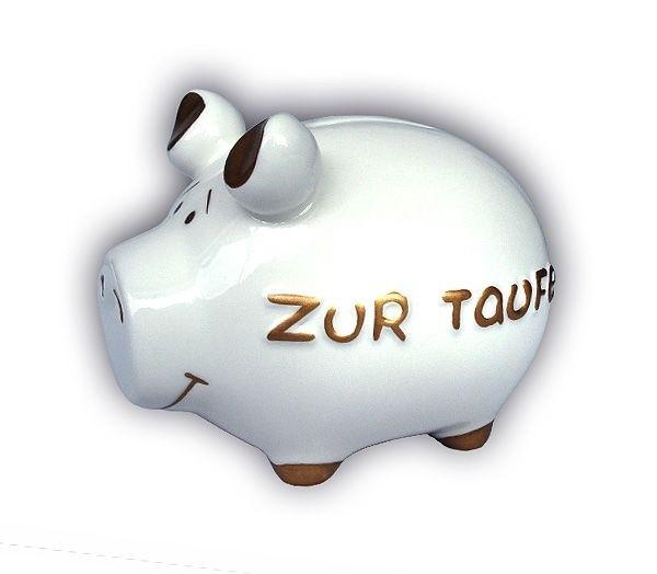 Sparschwein Taufe