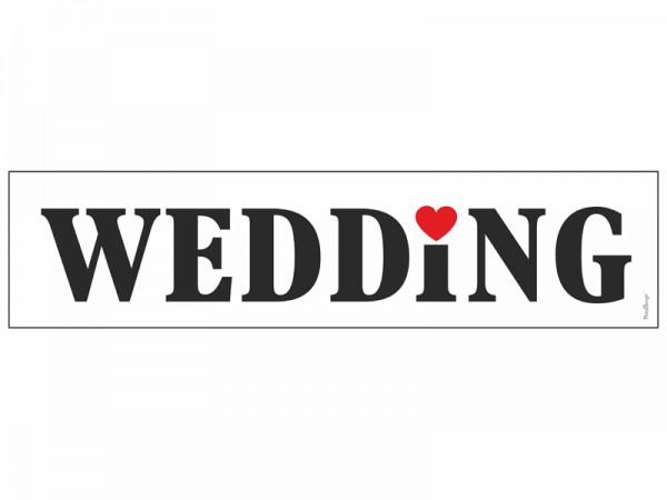 Nummernschild Wedding