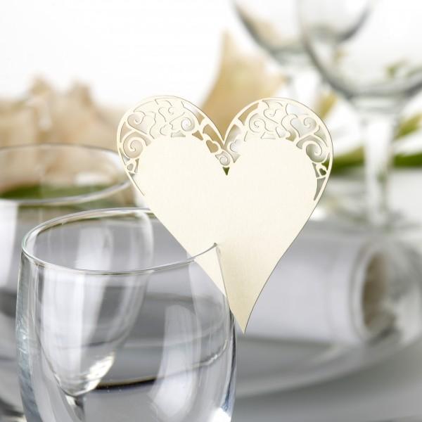 Tischkarte Liebe