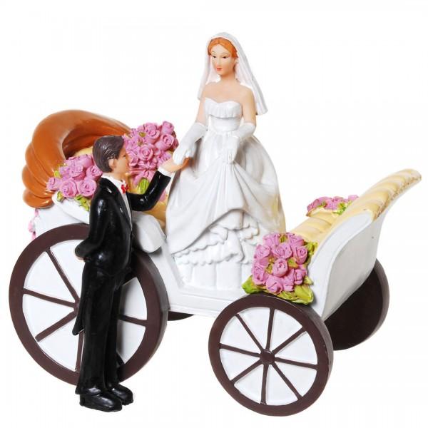 Figur Hochzeitskutsche