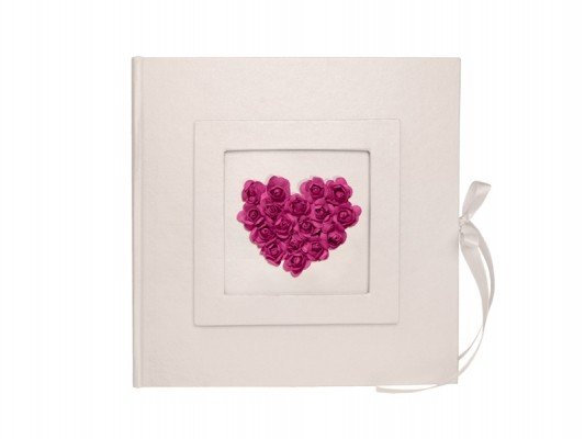 Gästebuch Liebe Pink