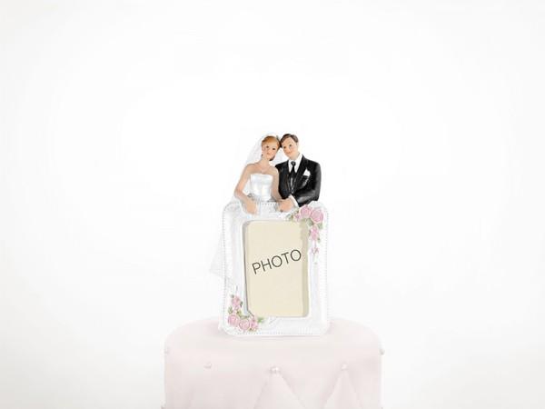 Tortenfigur Hochzeitsfoto