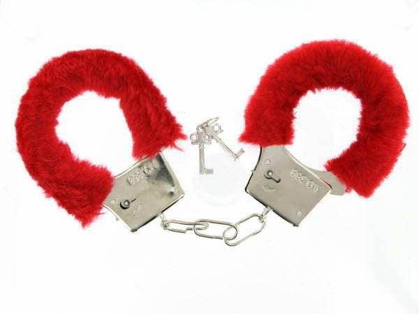 Handschellen Rot