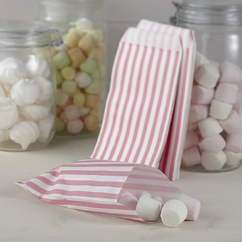 Candybar Säckchen Pink