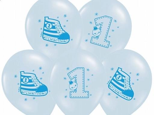 Luftballon Nr. 1 Blau
