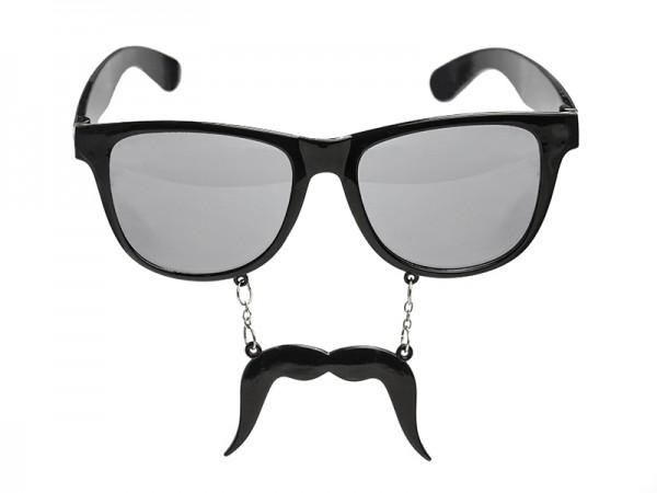 Brille Schnurrbart