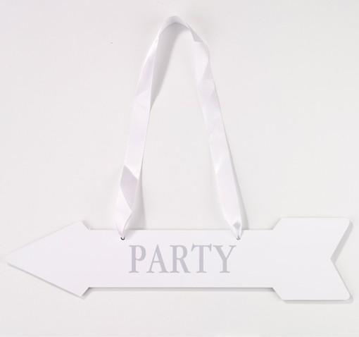 Party-Pfeile Weiß