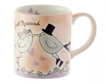 Kaffeebecher Vogelhochzeit