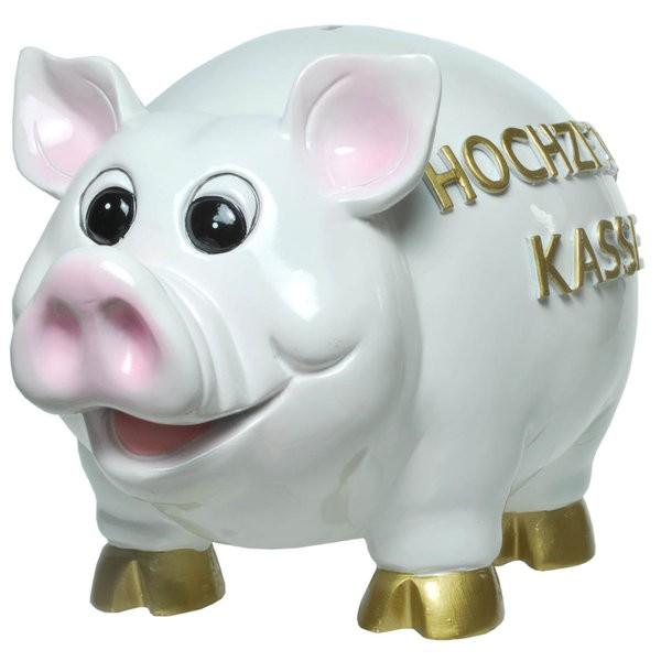 Sparschwein Hochzeitskasse