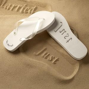 Flip Flops Weiß