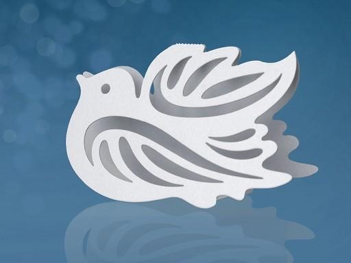 Tischkarte Vogel