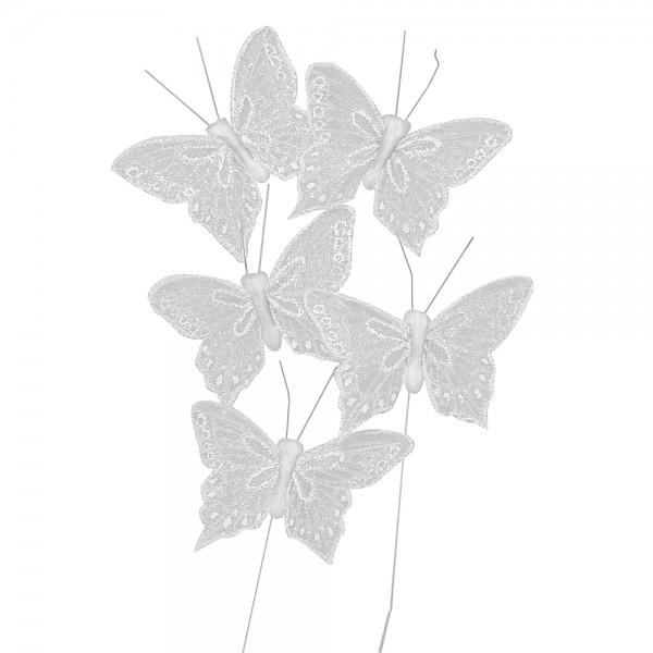 Deko Schmetterling Glitter