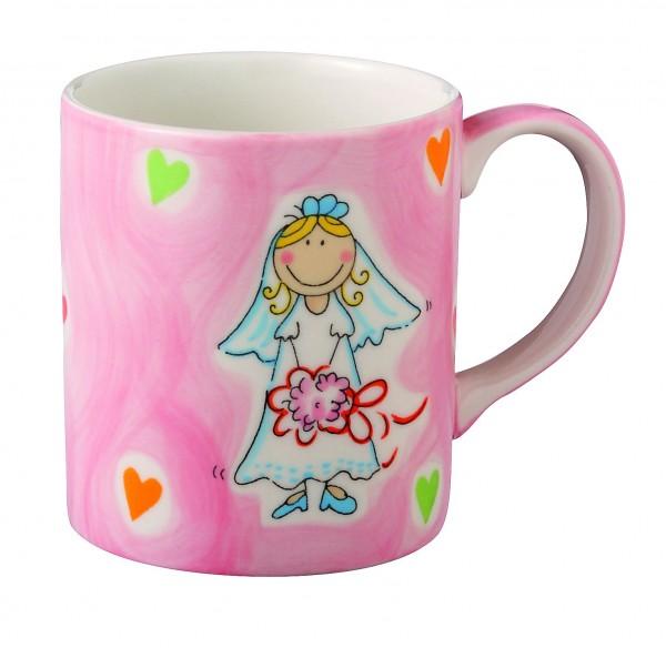 Kaffeebecher Rosa