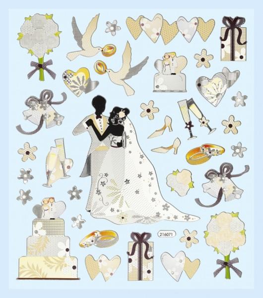 Sticker Hochzeitstag
