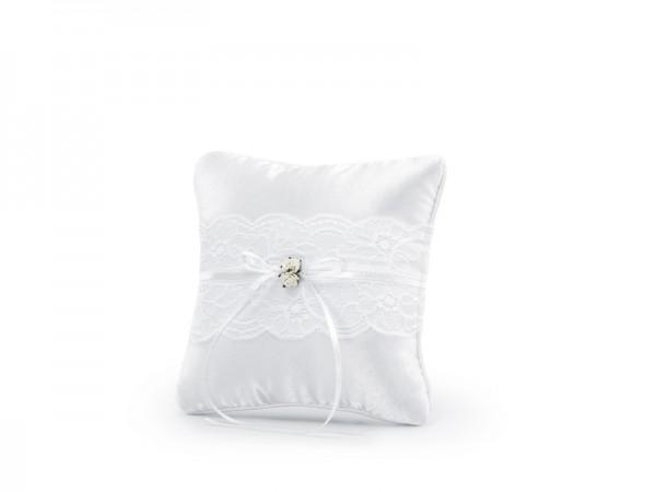 Ringkissen Weiß