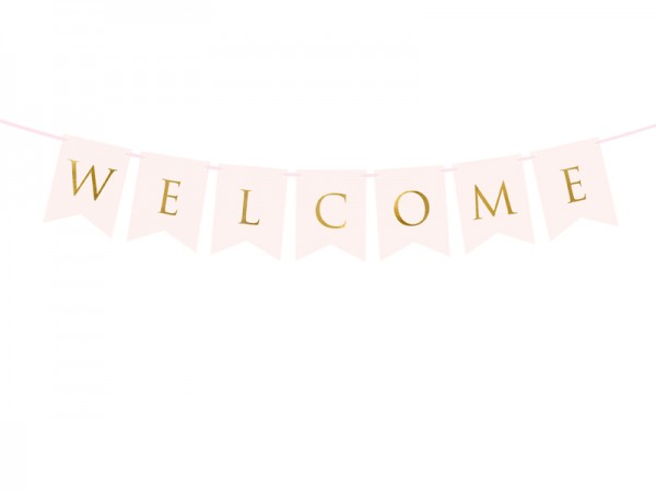 Baby-Banner Welcome
