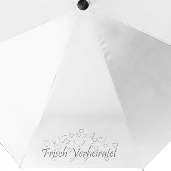 Regenschirm Frisch Verheiratet