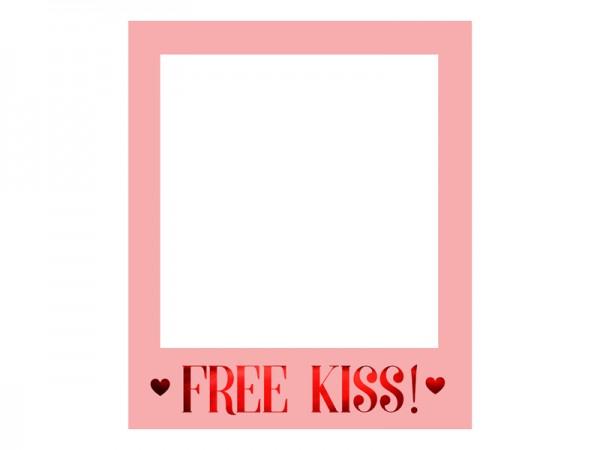 Selfierahmen Bilderrahmen Free Kiss