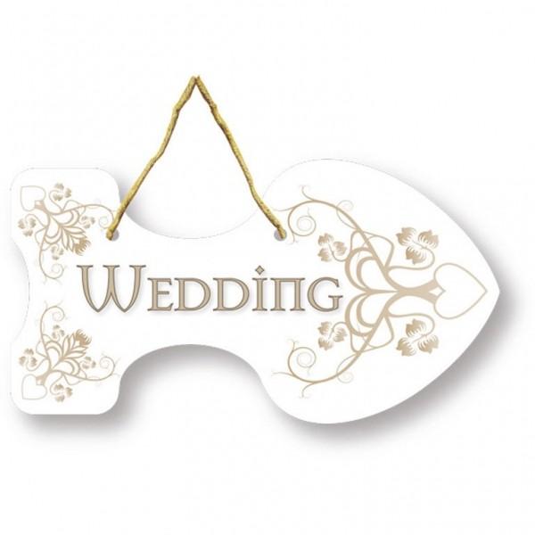 Hochzeitsschilder-Set Wedding