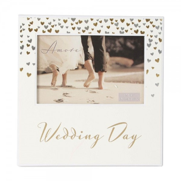 Bilderrahmen Wedding Day