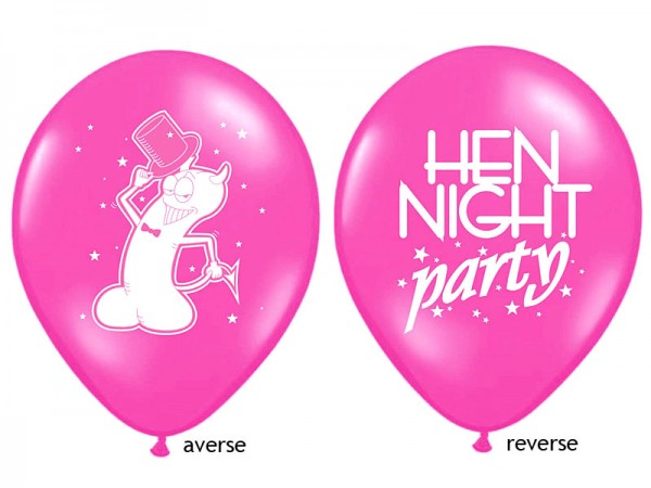 Hen Night Luftballon