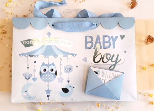 Geschenksackerl Welcome Babyboy