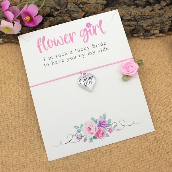 Armband Blumenmädchen Herzig