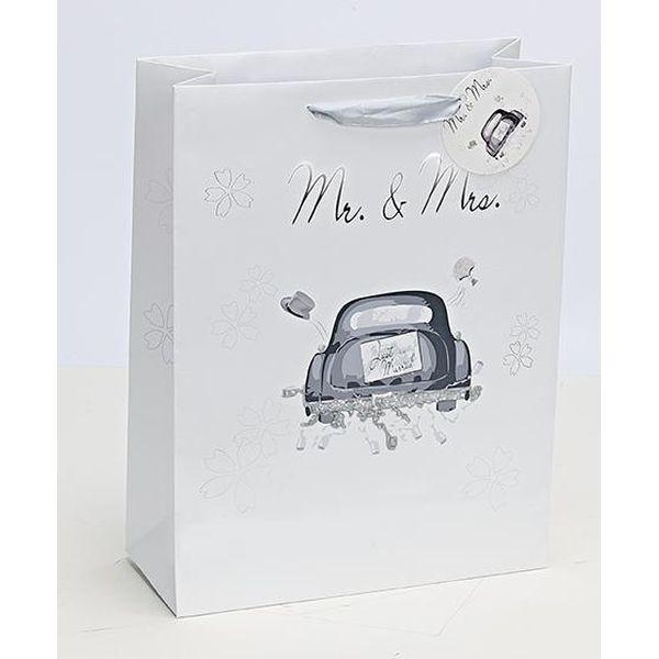 Geschenksackerl Mr. & Mrs.