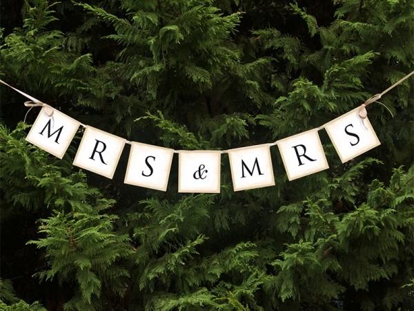 Banner Mrs. & Mrs.