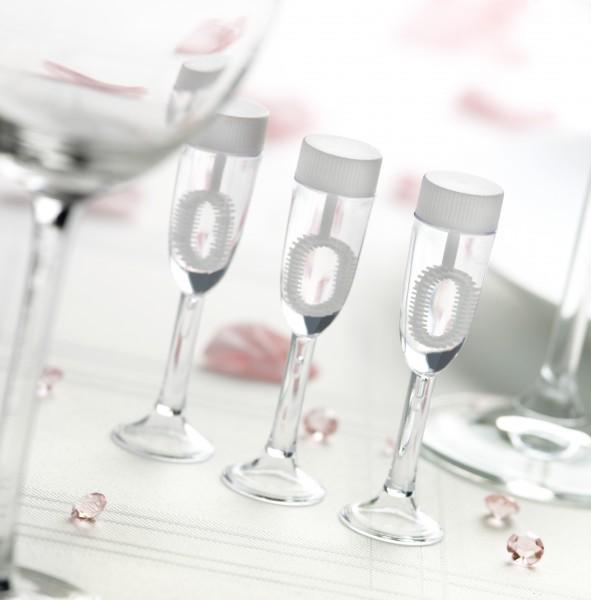 Wedding Bubbles Sektglas