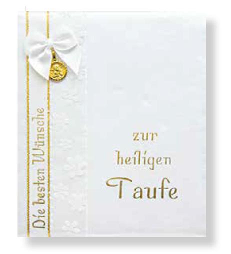 Taufbrief Gold