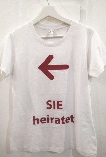 T-Shirt Sie heiratet