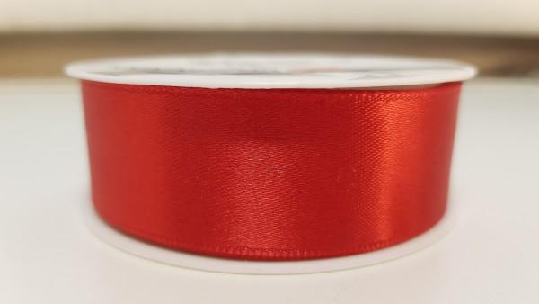Satinband 3m Rot