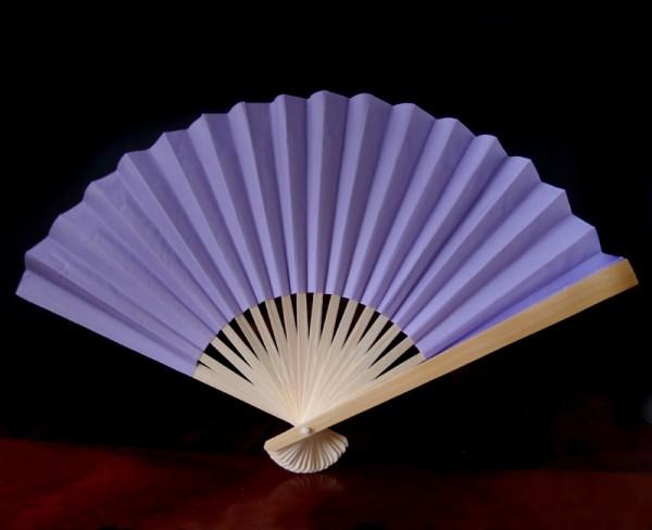 Papierfächer Flieder