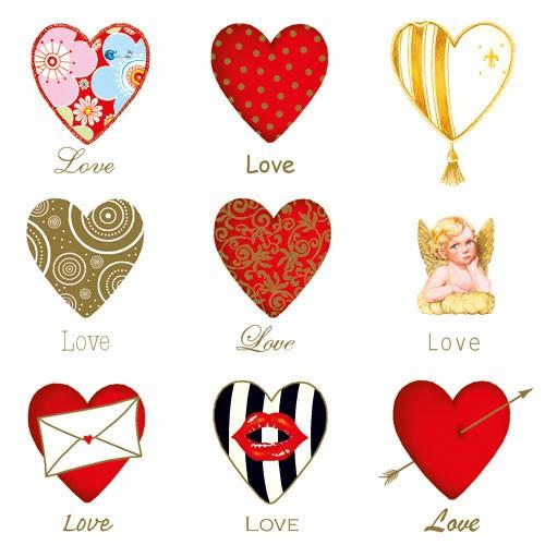 Servietten Liebe