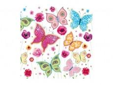 Serviette Schmetterling