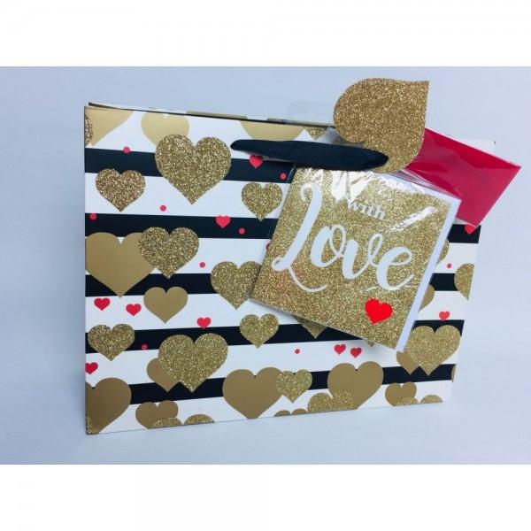 Geschenkverpackungsset Love
